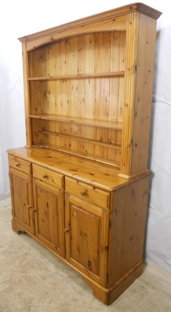 Pine Welsh Dresser By Ducal